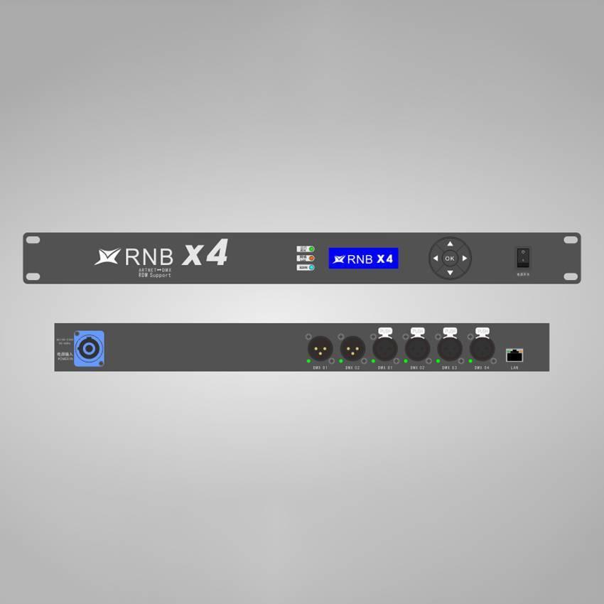 华用RNB X4型Art-Net转DMX512网络扩展器(支持RDM)