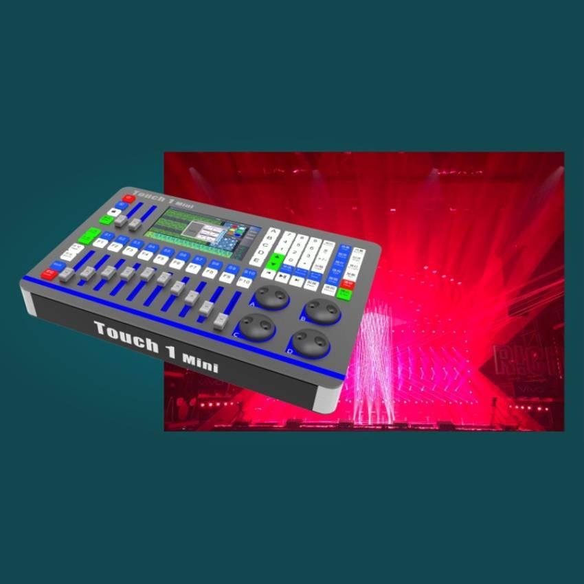 华用Touch 1 Mini 型专业舞台灯光数字DMX-512灯光控制台