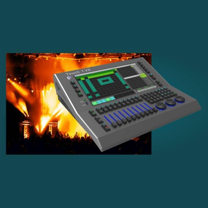 华用Touch 1 VX型专业舞台灯光 数字DMX512灯光控制台