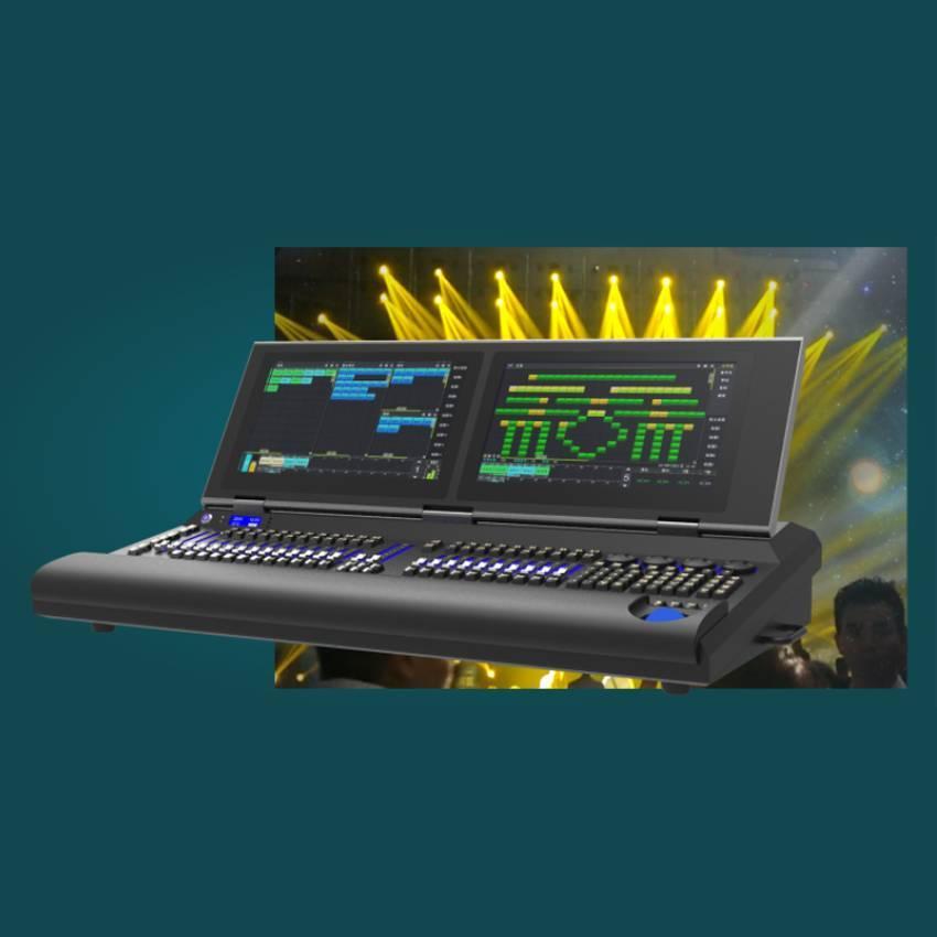华用 Pro 620型专业舞台灯光数字DMX512灯光控制台